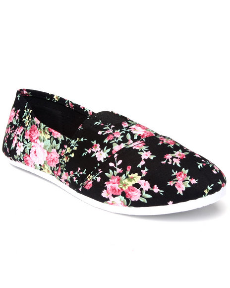 Apple Bottoms - Flower Casual Canvas Sneaker