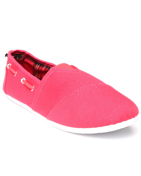 Apple Bottoms - Women Coral Dracoy Casual Canvas Sneaker - $12.99