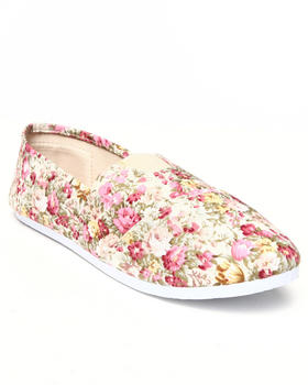 Apple Bottoms - Flower Casual Canvas Sneaker