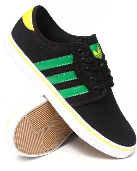 Adidas Black Seeley Sneakers