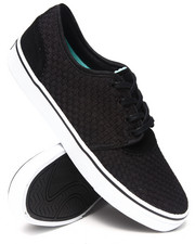 Diamond Supply Co - Premier Black Woven Sneakers