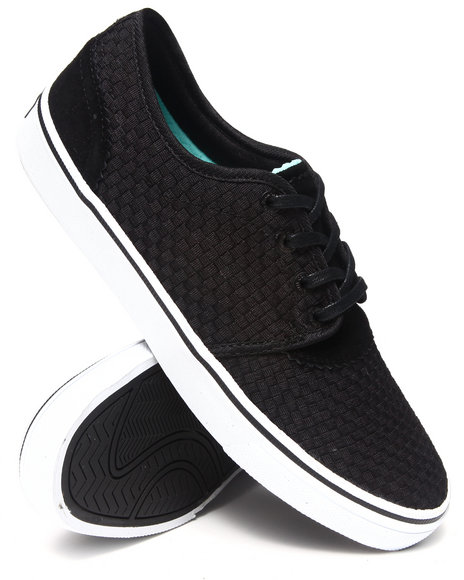 Diamond Supply Co Black Premier Black Woven Sneakers
