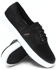 Diamond Supply Co - Diamond Cuts Black Oiled Sneakers