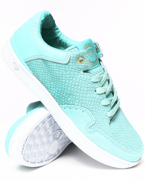 Diamond Supply Co Blue Capital Diamond Blue Snake Sneakers