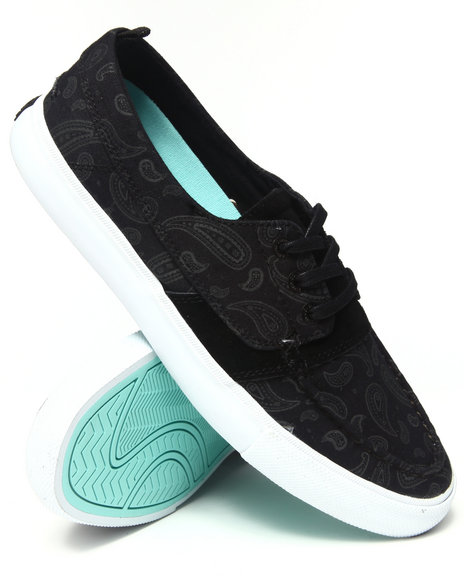 Diamond Supply Co Black Yacht Club Black Paisley Sneakers