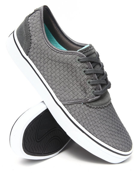 Diamond Supply Co Grey Premier Grey Woven Sneakers