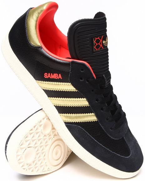 Adidas - Men Black Samba Sneakers
