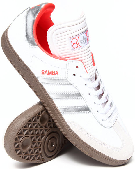 Adidas - Men White Samba Sneakers
