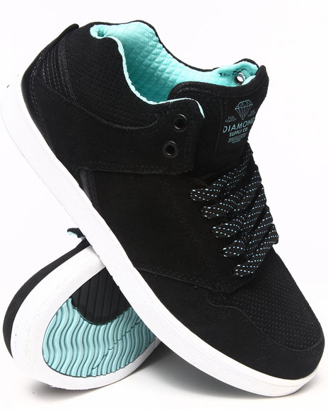Diamond Supply Co - Men Black Le Sport Black Diamond Blue Sneakers