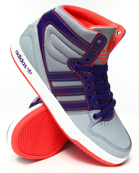 Adidas - Men Silver Court Attitude Sneakers