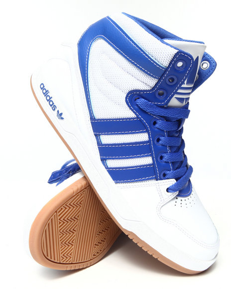 Adidas - Men White Court Attitude Sneakers - $65.99