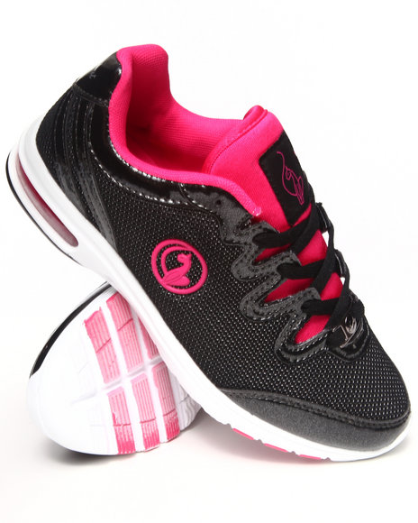 Baby Phat Black,Pink Nova Running Sneaker