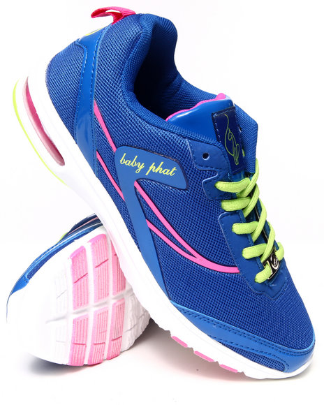 Baby Phat - Women Blue Newt Color Play Running Sneaker