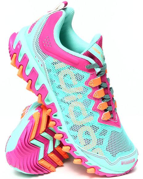 Adidas Pink,Teal Vigor 4 Tr W Sneakers