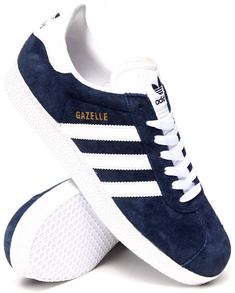 Adidas - Men Navy Gazelle Sneakers