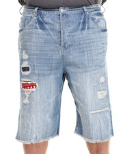 Men - Leros Destroyed Denim Short (B&T)