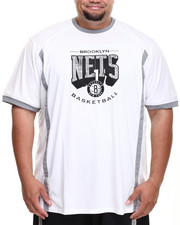 Men - Brooklyn Nets Varsity Tee (B&T)