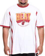 Men - Miami Heat Varsity Tee (B&T)