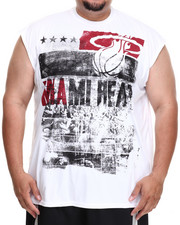 Men - Miami Heat Mobley Muscle Tee (B&T)