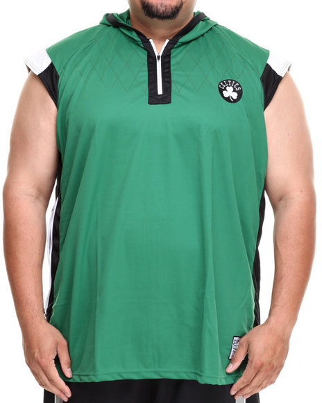 Nba, Mlb, Nfl Gear - Men Green Boston Celtics Fence Shooter Muscle Shirt (B&T)