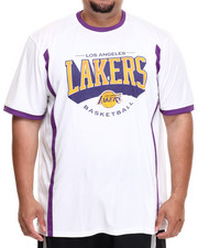 Shirts - Los Angeles Lakers Varsity Tee (B&T)