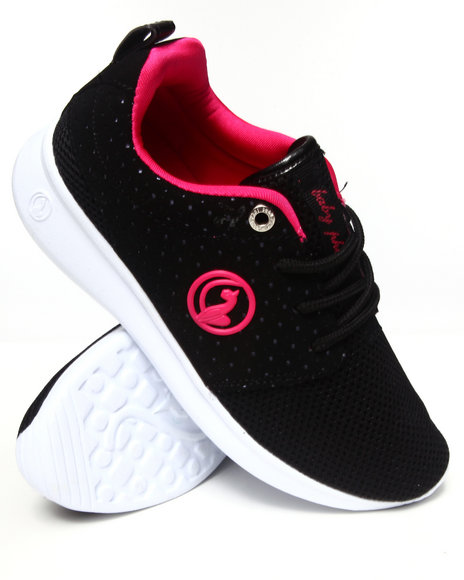 Baby Phat Black,Pink Paxton Low Sneaker