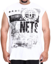 Shirts - Brooklyn Nets Mobley Muscle Tee (B&T)