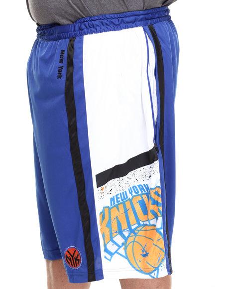 Nba, Mlb, Nfl Gear - Men Blue New York Knicks Davis Short (B&T)