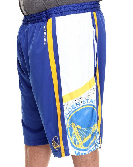 Nba, Mlb, Nfl Gear - Men Blue Golden State Warriors Davis Short (B&T)