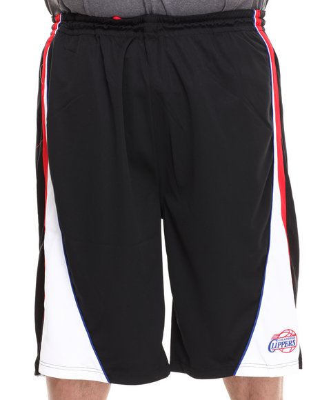 Nba, Mlb, Nfl Gear - Men Black Los Angeles Clippers Dukes Short (B&T)