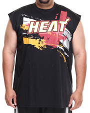 Shirts - Miami Heat Charlie Muscle Tee (B&T)