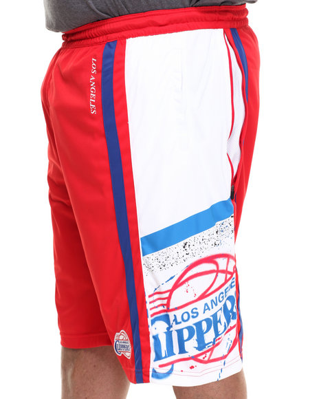 NBA, MLB, NFL Gear - Los Angeles Clippers Davis Short (B&T)