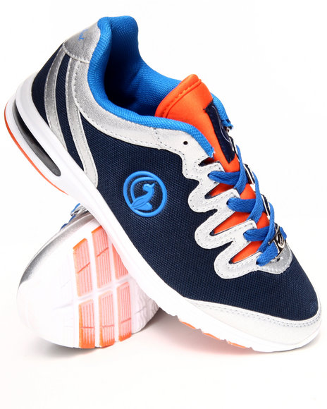 Baby Phat - Women Navy,Orange Nova Running Sneaker