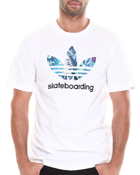 Adidas - Men White Gonz Tropic Tee