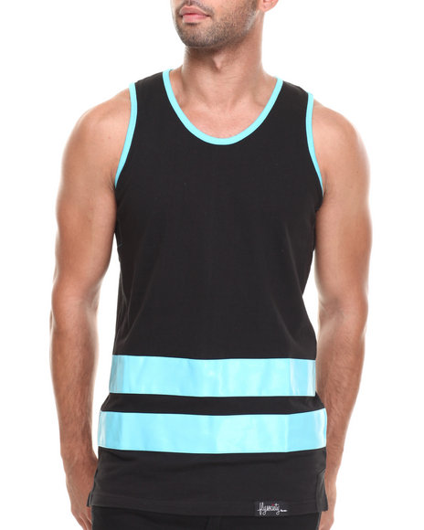 Flysociety - Men Blue Boardwalk Tank