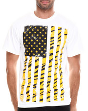 T-Shirts - Tiger American Flag Tee