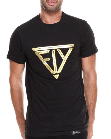 Flysociety Black Secret Societ T-Shirt
