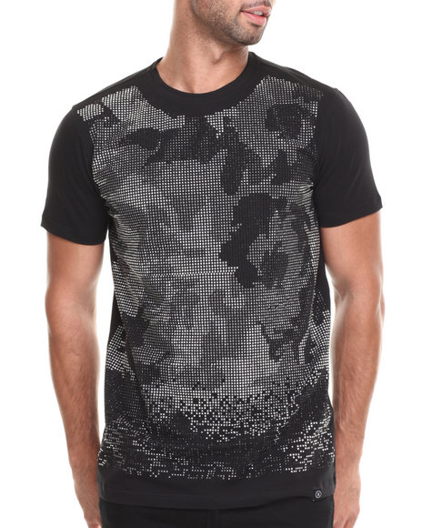 Hudson Nyc - Men Black Rococo Studded S/S Tee