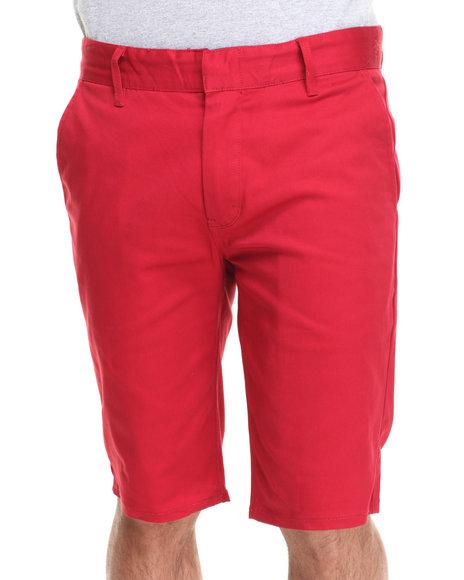 Altamont Red Davis Slim Shorts