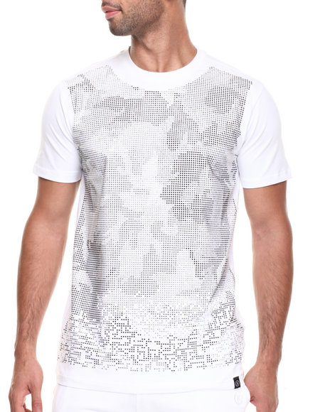 Hudson Nyc - Men White Rococo Studded S/S Tee