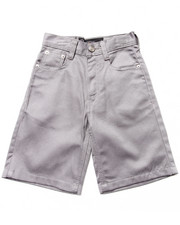 Sizes 4-7x - Kids - COTTON TWILL BULL DENIM SHORTS (4-7)