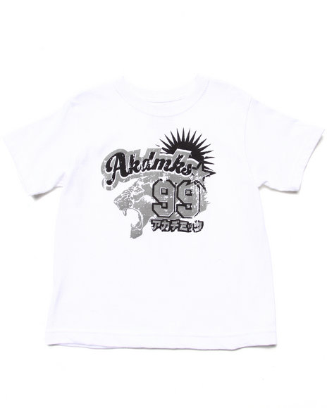 Akademiks - Boys White Nagoya Graphic Tee (4-7) - $6.99