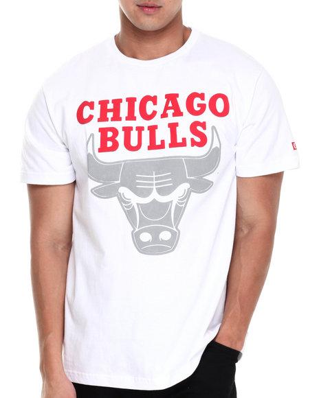 NBA, MLB, NFL Gear White Chicago Bulls Reflecta Tee