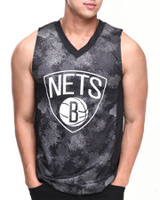 NBA, MLB, NFL Gear - Brooklyn Nets Team Digi Camo Tank Top