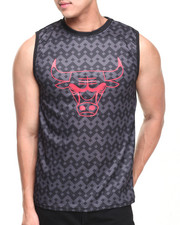 NBA, MLB, NFL Gear - Chicago Bulls Aztec Team Tank Top