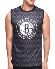 NBA, MLB, NFL Gear - Brooklyn Nets Aztec Team Tank Top
