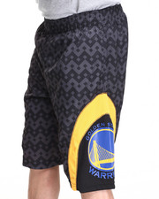 NBA, MLB, NFL Gear - Golden State Warriors team Aztec 1 Shorts