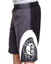 NBA, MLB, NFL Gear - Brooklyn Nets Asphalt 1 Shorts
