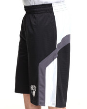 NBA, MLB, NFL Gear - Brooklyn Nets Team Asphalt 2 Shorts
