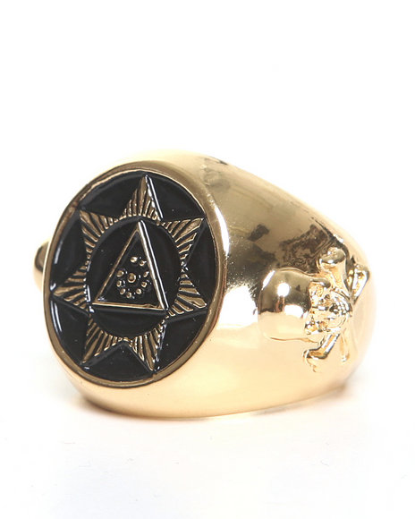 Blvck Scvle Seventh Star Ring Gold